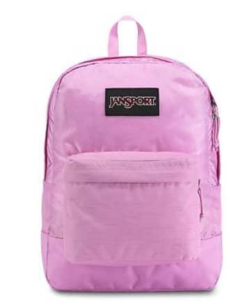 Jansport Black Label Superbreak Backpacks - Lavender Orchid Purple
