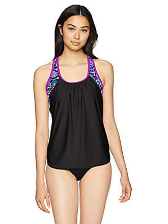 0b20062695 ZeroXposur Womens Links Action 2For Tankini Top, Beet, 8. USD $26.99