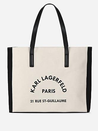 Karl Lagerfeld K/Rue Lagerfeld Canvas Bag