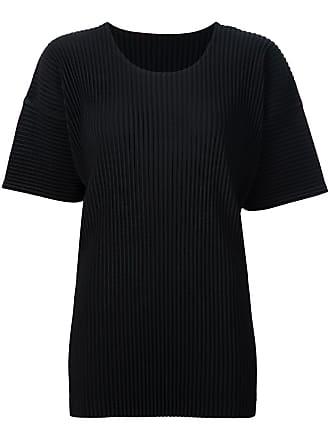 Homme Plissé Issey Miyake pleated T-shirt - Black