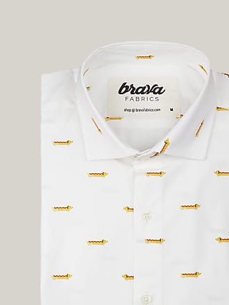 Brava Fabrics Dog Appetit Printed Long Sleeve Shirt