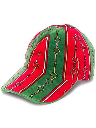 531e8bce1717a Gucci chain link baseball cap - Red