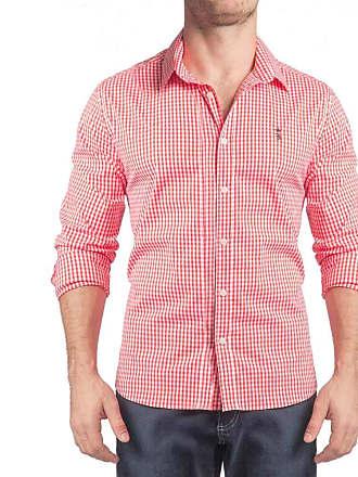 Sergio K. Camisa Xadrez Vichy Stretch Vermelho