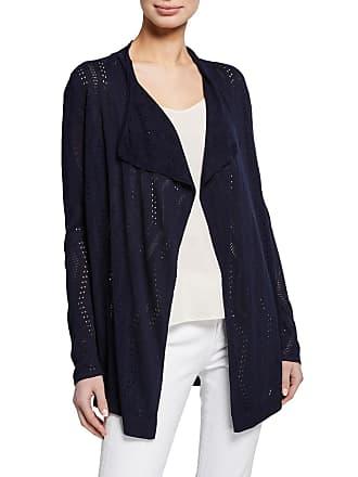 Neiman Marcus Cascade Long-Sleeve Cardigan