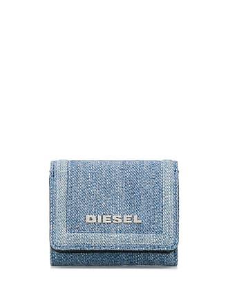 bc89a542139d06 Diesel Portafoglio tri-fold - Di Colore Blu