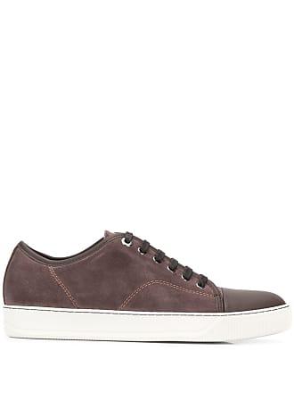 Lanvin low-top tennis sneakers - Brown