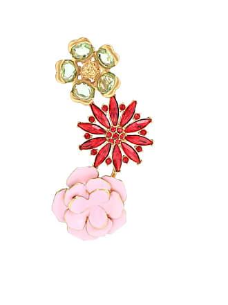 Versace Embellished single earring