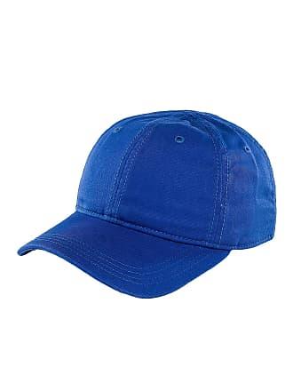 a2977cdc2c8 Lacoste Men Caps Snapback Cap Gabardine Croc Blue Adjustable
