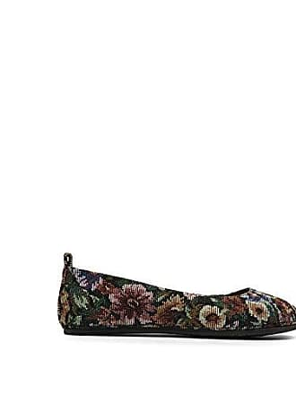 Gentle Souls by Kenneth Cole Womens DANA COMFORT BALLET FLAT Shoe, floral, 6.5 M US