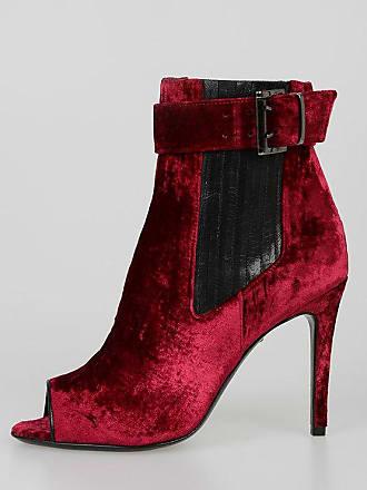 Just Cavalli 10cm Velvet Ankle Boots size 38