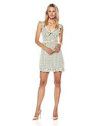 d92bb3e239a6 For Love & Lemons Womens Sweetheart Mini Dress, Crème, ...