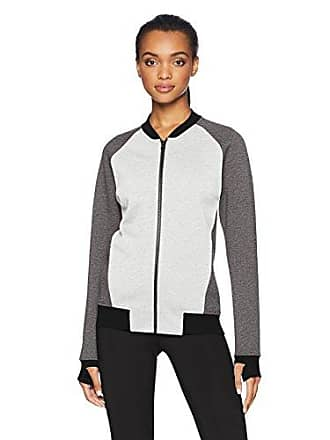 03b341e26fd Core 10 Womens Motion Tech Fleece Fitted Bomber Full-Zip Jacket