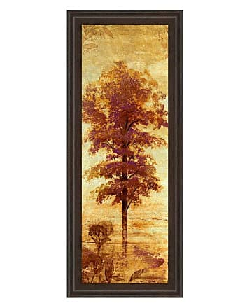 Classy Art Early Autumn Chill I Framed Wall Art - 18W x 42H in. - 1309