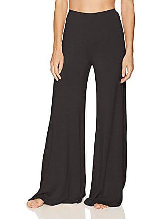 Cosabella Womens Minimalista Wide Leg Pant, Black, Medium