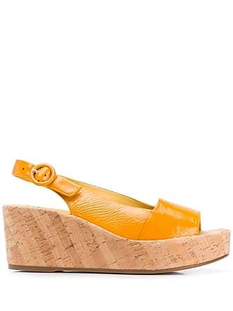 Högl platform sandals - Yellow