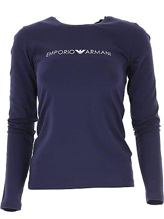 T-Shirts Manches Longues Emporio Armani®   Achetez jusqu  à −55 ... 08aa9a089ec