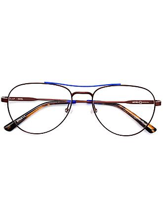 Etnia Barcelona Armação de óculos aviador Olaf - Azul