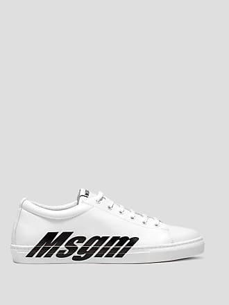 Msgm branded sole cupsole sneaker