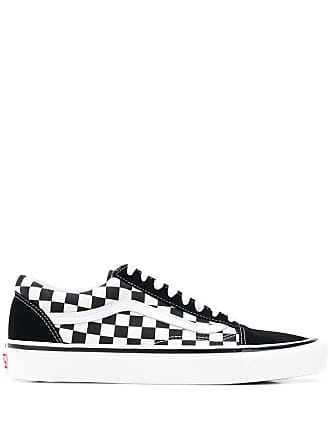 cb4af28d9c Vans black and white old skool 36 dx leather and canvas sneakers