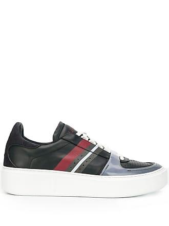 Ermenegildo Zegna striped low-top sneakers - Blue