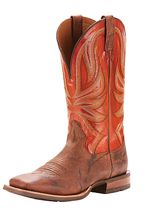 3df74137861 Ariat Mens Range Boss Western Boots in Trusty Brown Leather
