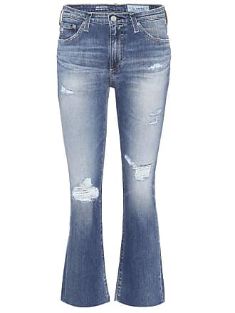 AG - Adriano Goldschmied The Jodi Crop flared jeans