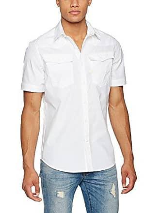05edc0334f White Short Sleeve Shirts  Shop up to −60%