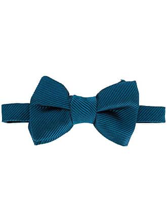 Tom Ford Gravata borboleta listrada - Azul
