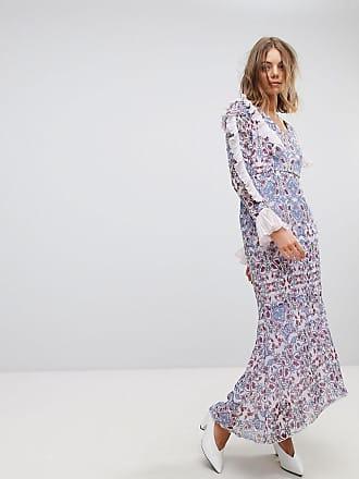 d0b49a1d3813 Vero Moda Lila paisleymönstrad maxiklänning - Orchid hush-färg