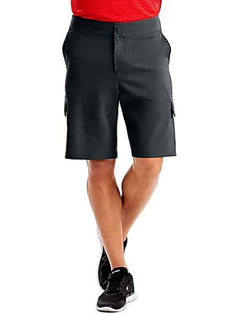 Hanes Sport3; Mens Woven Utility Shorts Cargo Olive 2XL