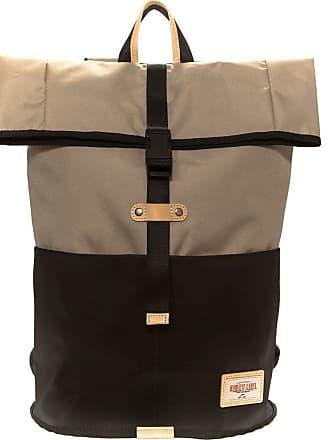 Harvest Label Trekker Flaptop Backpack   Brown
