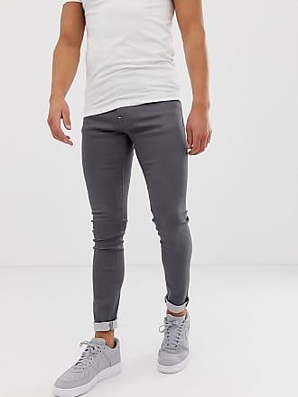 Armani J33 super skinny fit gray jeans - Gray