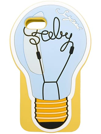 See By Chloé Capa Lightbulb para iPhone 7/8 - Amarelo
