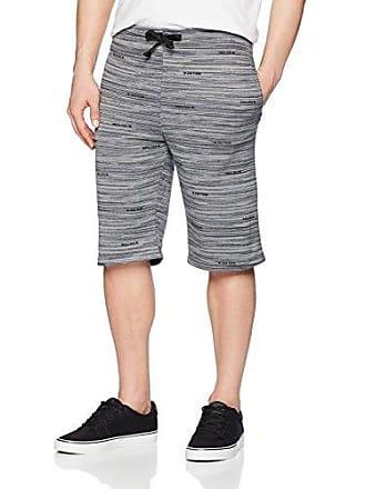 Zoo York Mens Athletic Knit Short, Boro Black, Medium