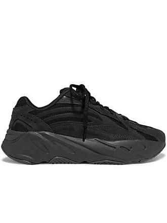 adidas Originals Yeezy Boost 700 V2 Mesh And Suede Sneakers - Black