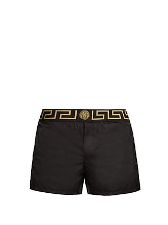 Versace Medusa Swim Shorts - Mens - Black Multi