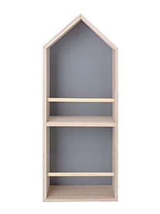 Bloomingville AH0587 Book Shelf, Grey