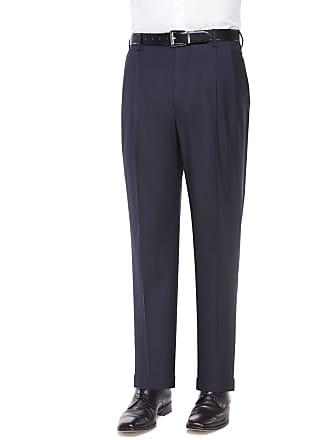 Zanella Bennett Pleated Super 150s Trousers
