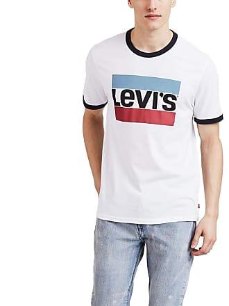 Levi's Camiseta Levis Masculina Logo Sportswear Retro Branca