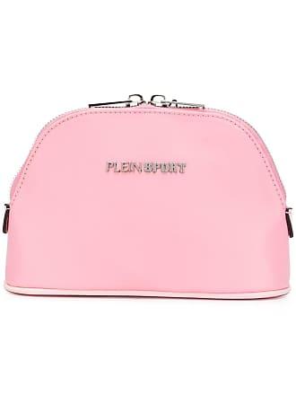 Plein Sport logo makeup bag - Rosa