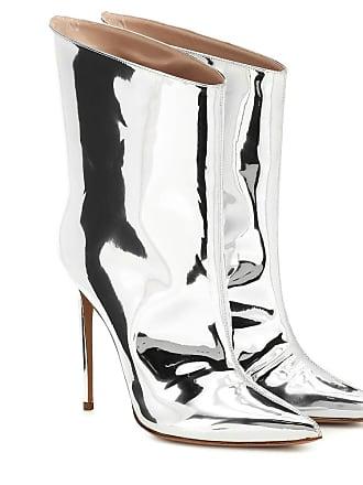 Alexandre Vauthier Alex Low metallic ankle boots