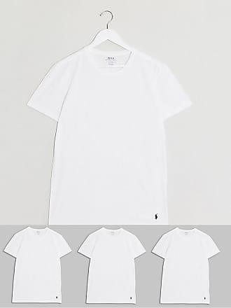 Polo Ralph Lauren Confezione da 3 T-shirt bianche-Bianco