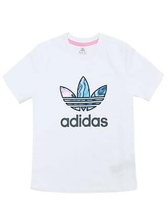 adidas Performance Camiseta adidas Menina Frontal Branca