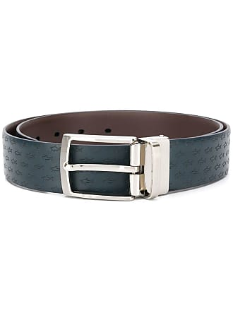Paul & Shark logo belt - Azul