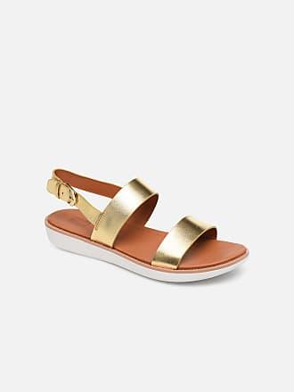 b994c369160922 FitFlop Barra - Sandalen für Damen   gold bronze