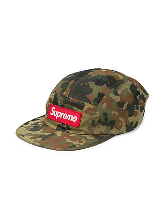 SUPREME camouflage print cap - Green