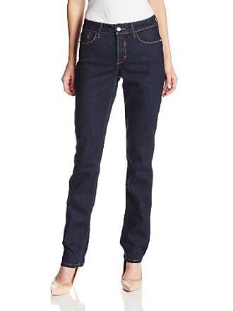 NYDJ Womens Sheri Slim Jeans, Dark Larchmont Wash, 18