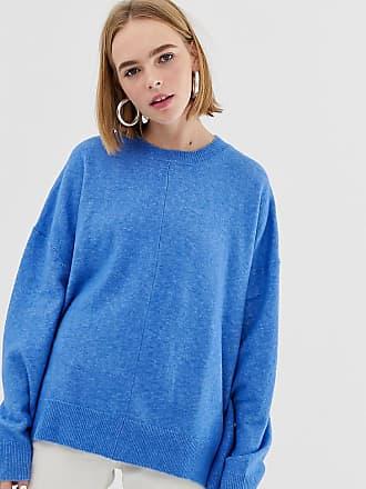Weekday Batwing Knit Sweater - Blue