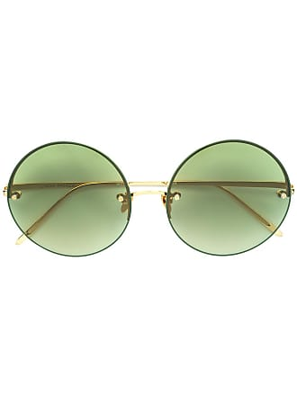 3e940d043522 Linda Farrow® Round Sunglasses − Sale  up to −67%