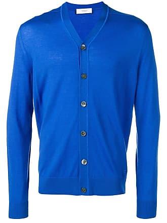 Pringle Of Scotland Cardigã de tricô - Azul